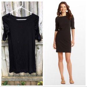Lilly Pulitzer Kaleb Dress black comfy cute! S